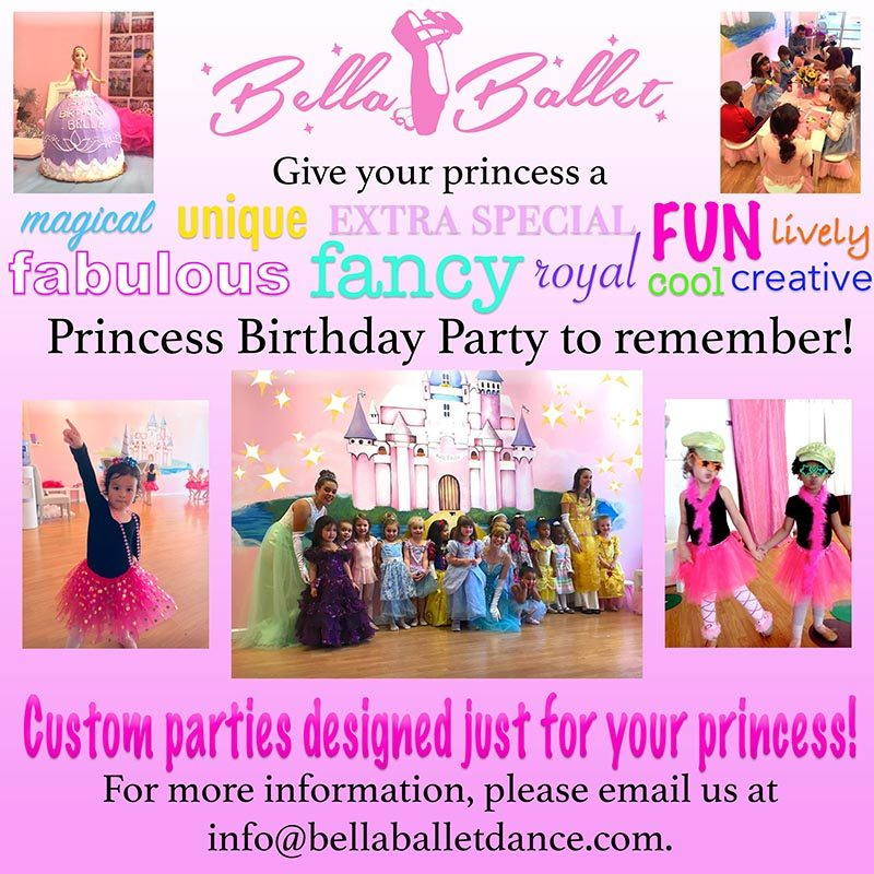 BELLA BIRTHDAY PARTIES