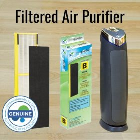Air Purifiers Throughout the Studio